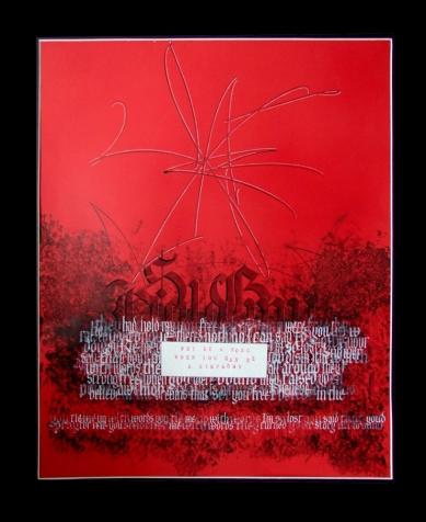 Symphony. Mark L'Argent - Lettering Artist