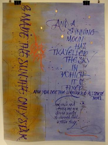 Missing Stair. Mark L'Argent - Lettering Artist