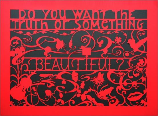 Beautiful #1, Mark L'Argent, Lettering Artist
