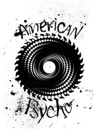 American Psycho Artwork. Mark L'Argent - Lettering Artist