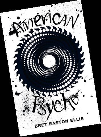 American Psycho Bookcover. Mark L'Argent - Lettering Artist