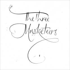 Three Musketeers Artwork. Mark L'Argent - Lettering Artist