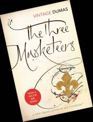 3 Musketeers Bookcover. Mark L'Argent - Lettering Artist