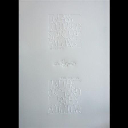 Emboss - Mark L'Argent - Lettering Artist
