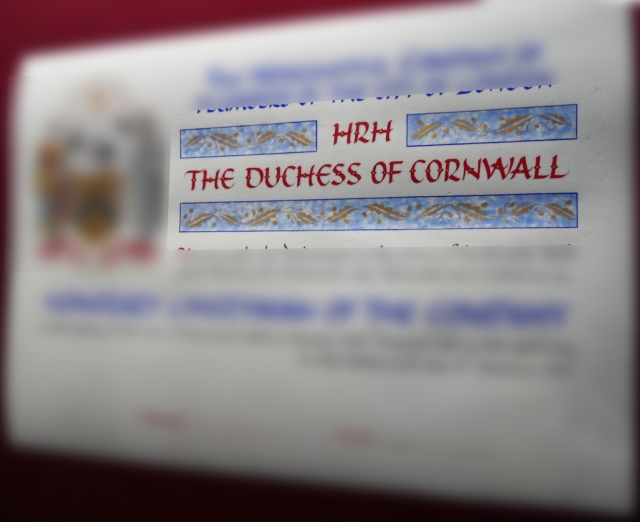 Duchess Cornwall - Mark L'Argent - Lettering Artist