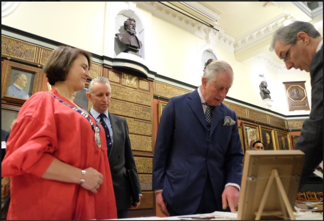 Prince Charles - Mark L'Argent - Lettering Artist